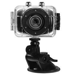 SODIAL Waterproof 2 Inch LCD Display 120 degree + HD X3 digi