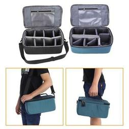 Waterproof DSLR Camera Lens Bag with Strap Insert Partition