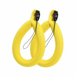SODIAL 2 pcs Waterproof Camera Float Strap Underwater Camera