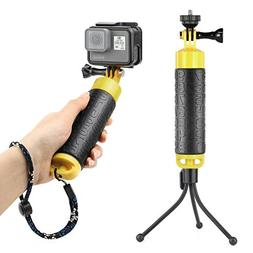 SOONSUN Waterproof Floating Hand Grip Monopod Pole for GoPro