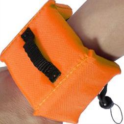 SODIAL waterproof floating strap / wrist strap for GoPro HD