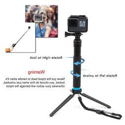 Waterproof Handheld Monopod Tripod Selfie Stick Poles for Go
