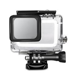 SyndeRay Waterproof Housing Case Cover for GoPro Hero 7/6/5-
