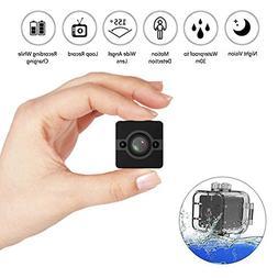 Waterproof Mini Camera 1080P HD Sport Action Night Vision Ca