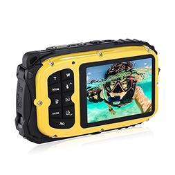 "Andoer 16MP 2.7"" LCD Waterproof Digital Video Camera Mini Ca"