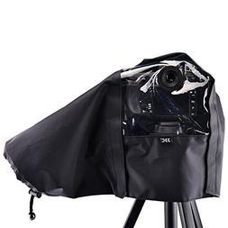 """JJC 22cm/8.6"""" Waterproof Nylon Camera Rain Coat Rain Cover P"""