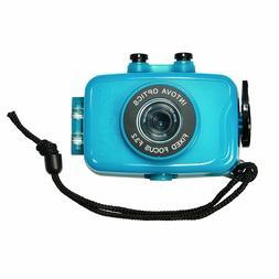 Intova Duo Waterproof HD POV Sports Video Camera, Aqua