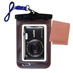 Gomadic Waterproof Camera Protective Bag suitable for the Ni