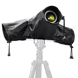 Professional Rain Cover, Zecti Rain-Waterproof Camera Protec
