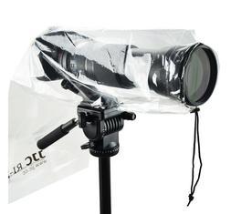 JJC WATERPROOF RAIN COVER PROTECTOR for Canon Rebel T6i T6