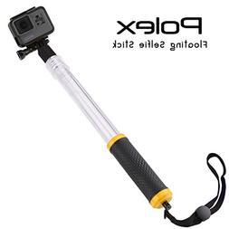 Waterproof Selfie Stick for GoPro | POLEX - Extendable Trans