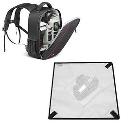 "Waterproof Shockproof Camera Case Backpack Bag with 23x23"" P"