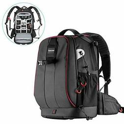 Neewer Waterproof Shockproof Padded Camera Backpack Bag for