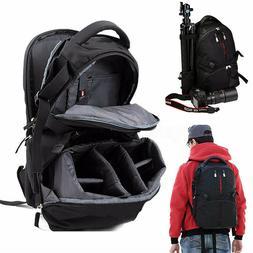 Waterproof Shockproof SLR DSLR Camera Laptop Bag Backpack Ru