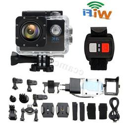 Waterproof Ultra 4K Wifi HD 1080P Sports Action Camera DVR D