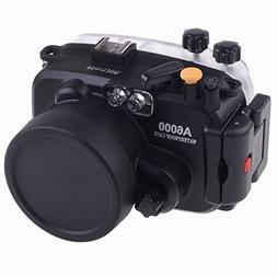 EACHSHOT 40M Waterproof Underwater Camera Housing Case Bag f