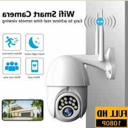 Waterproof Wifi Outdoor Security Camera 1080P HD  Two Way Au
