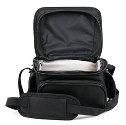 Water-Resistant Compact Camera Case With Belt Loops and Stor