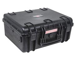 "Weatherproof Hard Case with Customizable Foam, 19"" x 16"" x 8"