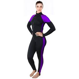 Ivation Womens Wetsuit - Lycra Full Body Diving Suit & Sport