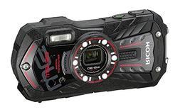 Ricoh WG-30 black 16 MP Waterproof Digital Camera with 5x Op