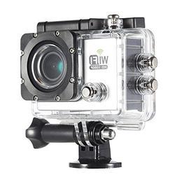 SODIAL Full HD Wifi Action Sports Camera DV Cam 2.0inch LCD