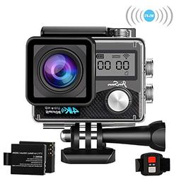 "JinSun 4K WiFi Sports Action Camera 16MP 2"" LCD Screen 170 D"