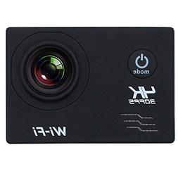 SODIAL 2Inch LCD Screen Wifi Sports Action Camera 4X Zoom 17