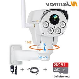Jennov Full HD 2.0MP 1080P WiFi IP Wireless Security Cameras