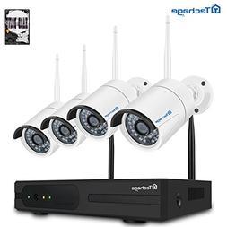 Techage Wifi Security Camera System/ Wireless CCTV System Ou