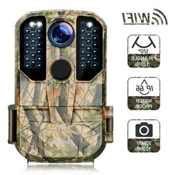 Campark WiFi Trail Camera 20MP 1296P Game Hunting Scouting C