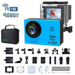 WIFI Underwater Camera HD 1080P 12mp Sports Action Cameras W