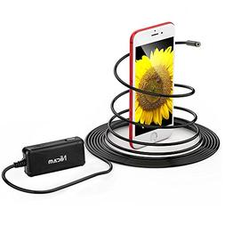 Wireless Endoscope, Semi-rigid WiFi Borescope Inspection Cam