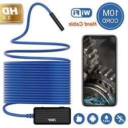 Wireless Endoscope THZY 1200P HD 10m WiFi Borescope Inspecti