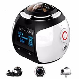 OUTERDO Wireless Panoramic Camera 3D VR Action Sports Camera