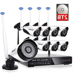 wireless security system nvr surveillance