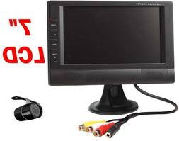 "4UCAM 7"" LCD Wireless Truck RV Backup Rear view Camera With"