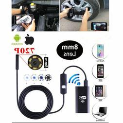 Wireless Waterproof Borescope Endoscope Inspection Camera fo