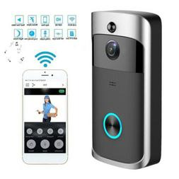 Wireless WiFi Door Bell IR Visual HD Camera Smart Waterproof