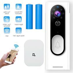 Wireless Doorbell WiFi Video Smart Talk Door Ring Security H