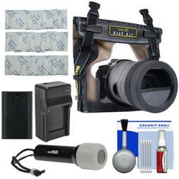 DiCAPac WP-S10 Waterproof Case Kit for Canon 6D 77D 80D 7D 5