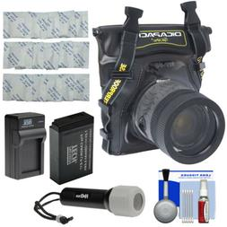 DiCAPac WP-S5 Waterproof Case Kit for Canon Rebel T6s T6i T7