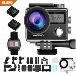Campark X20 4K 20MP Action Sport Camera Touch Screen Waterpr