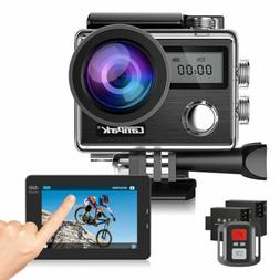 Action Camera Campark X20 HD 4K Sports Cam Touch Screen 20MP