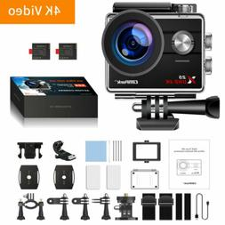 Campark X25 Native 4K Action Camera UHD WiFi Waterproof Came