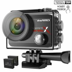 Campark X30 4K 60fps Action Camera 20MP Touch Screen WiFi 40