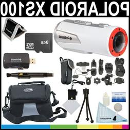 Polaroid XS100 Wi-Fi Extreme Edition HD 1080p 16MP Waterproo