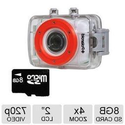 Polaroid XS7 Waterproof Hi-Def HD Sports Video Camera Camcor